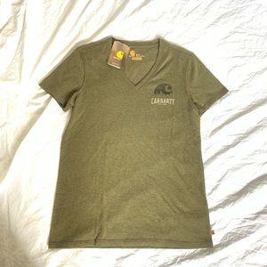 Brand New Women's Carhartt Shirt Relaxed Fit Small